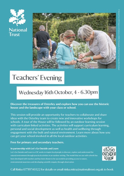 Teachers event at Osterley